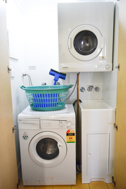 In-Cupboard Laundry