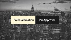 Pre Qualified vs Pre Approval