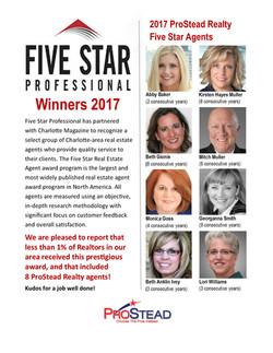 five star winners