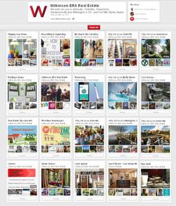 Company Pinterest Page