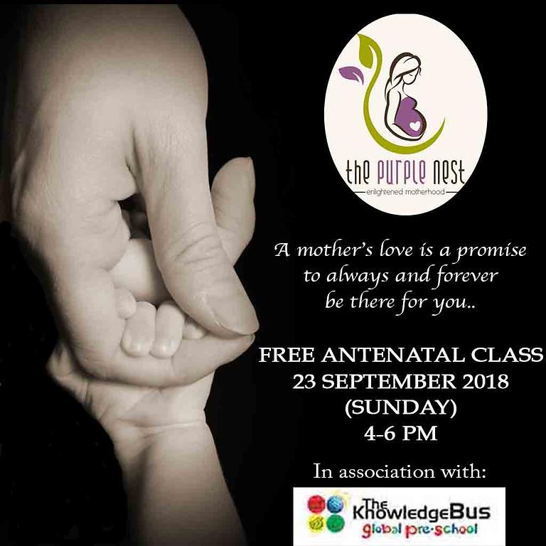 FREE ANTENATAL CLASS