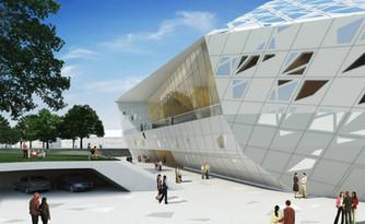 Beethoven Music Hall: Zaha Hadid