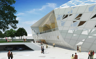 Beethoven Music Hall: Zaha Hadid