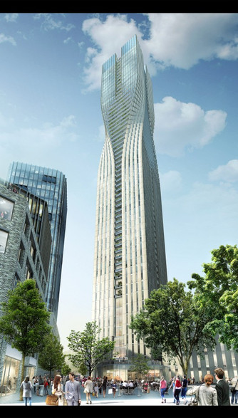 SOM Wins the Competition for Sweden's Tallest Tower