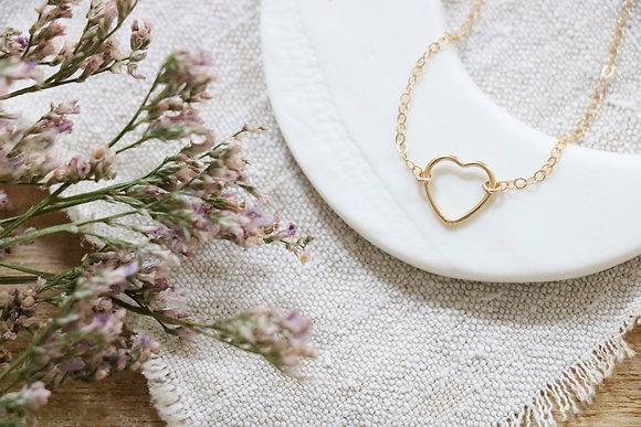 Bracelet Plaqué Or Coeur