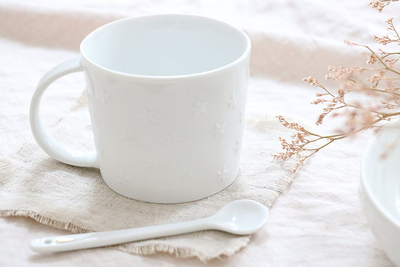 Mug Etoiles Porcelaine