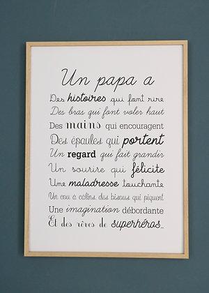 Affiche Exclusive Un Papa