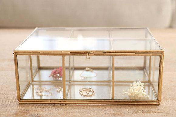 Boîte à Bijoux 6 Compartiments