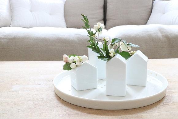 Série de 4 petits vases Maison
