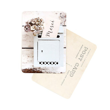 Carte Postale Merci Letter Box Cinq Mai