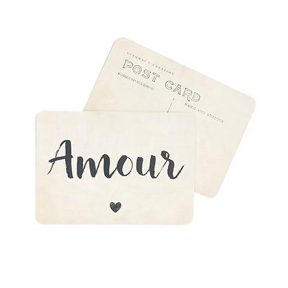 Carte Postale Amour Jane Vintage