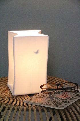 Lampe Porcelaine Papillon