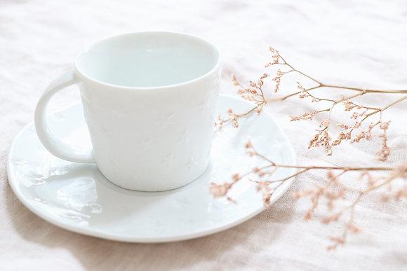 Tasse à Café Etoiles Porcelaine