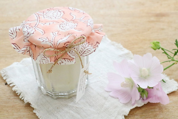 Bougie Cire de Soja Fleur d'Oranger Version 1