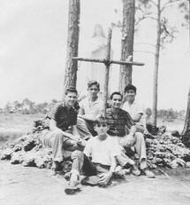 Boys from the 1960's Pedro Pan era of Camp Matecumbe