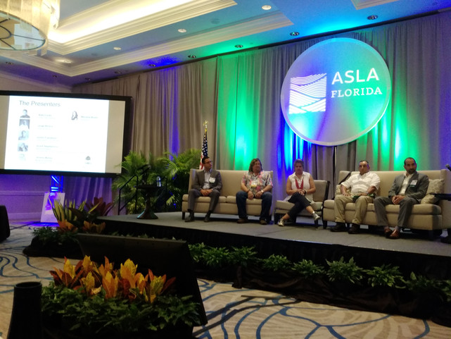 Curtis + Rogers Design Studio | Landscape Architecture | ASLA Florida Conference Speaker & Members| Aida Curtis | Mariana Boldu