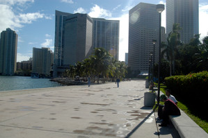 Before | The Baywalk in 2006 | Looking South