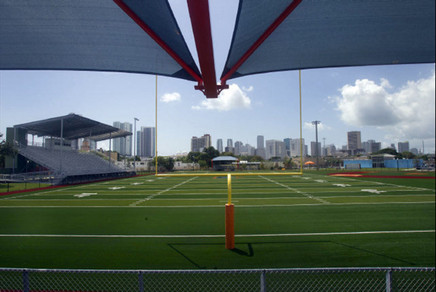 Artificial Turf Football Field & Stadium seating