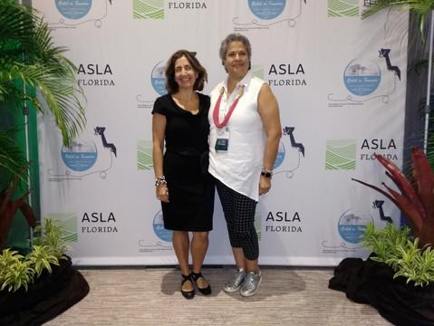 ASLA Florida Conference Speaker & Members| Aida Curtis | Mariana Boldu