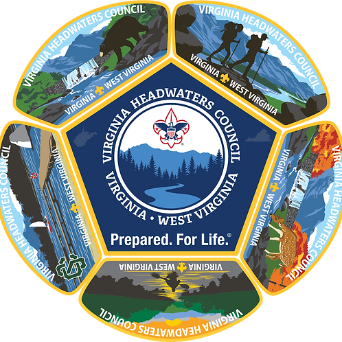 Virginia Headwaters Council Patch Set