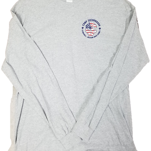 American Flag Camp Shenandoah Long Sleeve