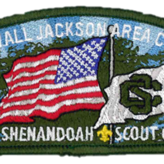 Camp Shenandoah Flag Shoulder Patch