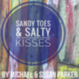 "Poster for the play, ""Sandy Toes & Salty Kisses"""