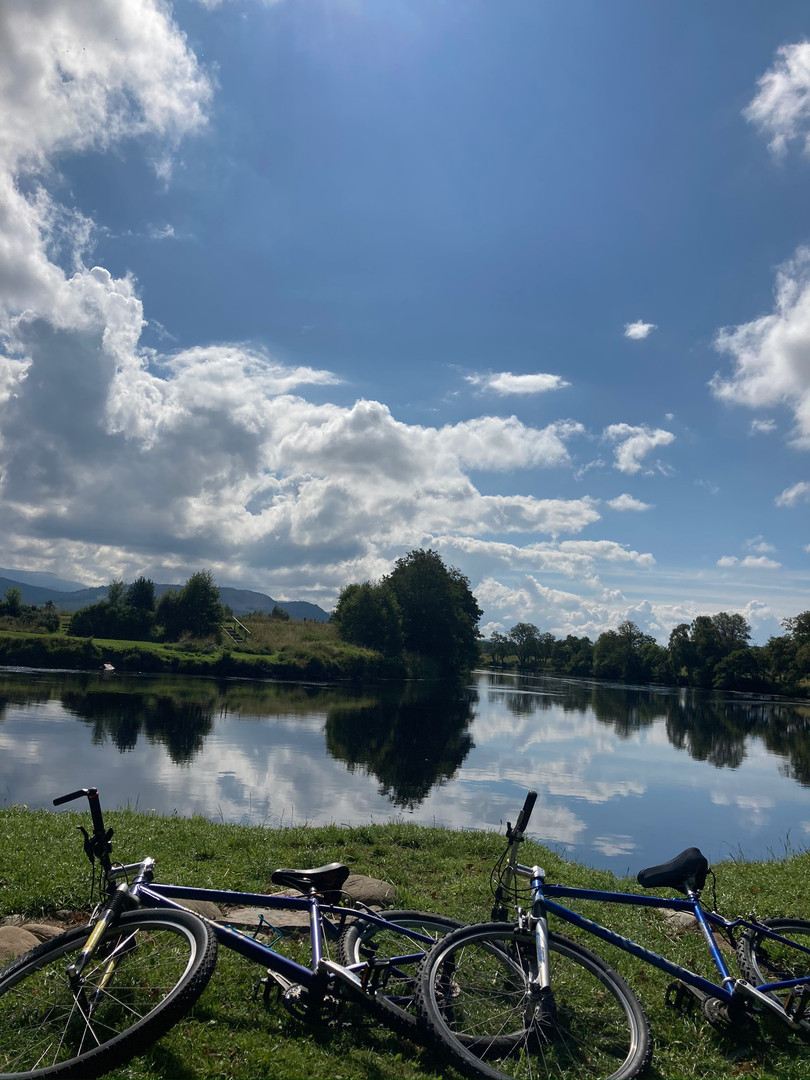Cycle by the Spey