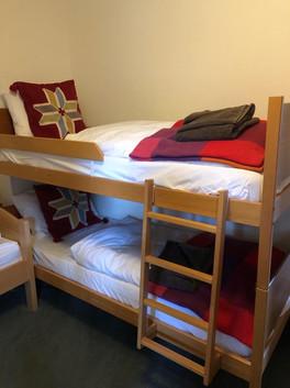 Bunk bedroom - wooden bunkbeds