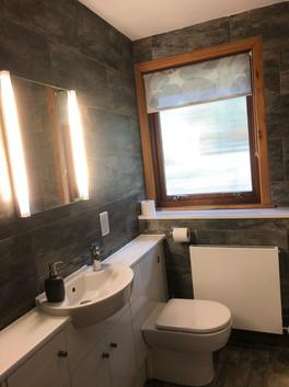 Bathroom - illuminated mirror