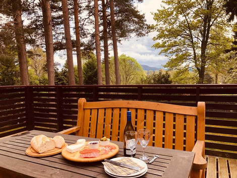 Lunch on the Deck