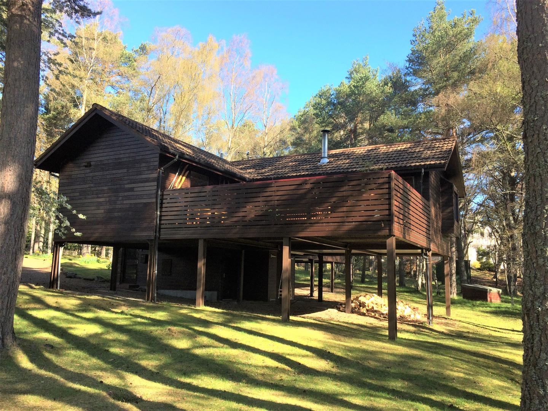 The Treehouse on 'stilts'