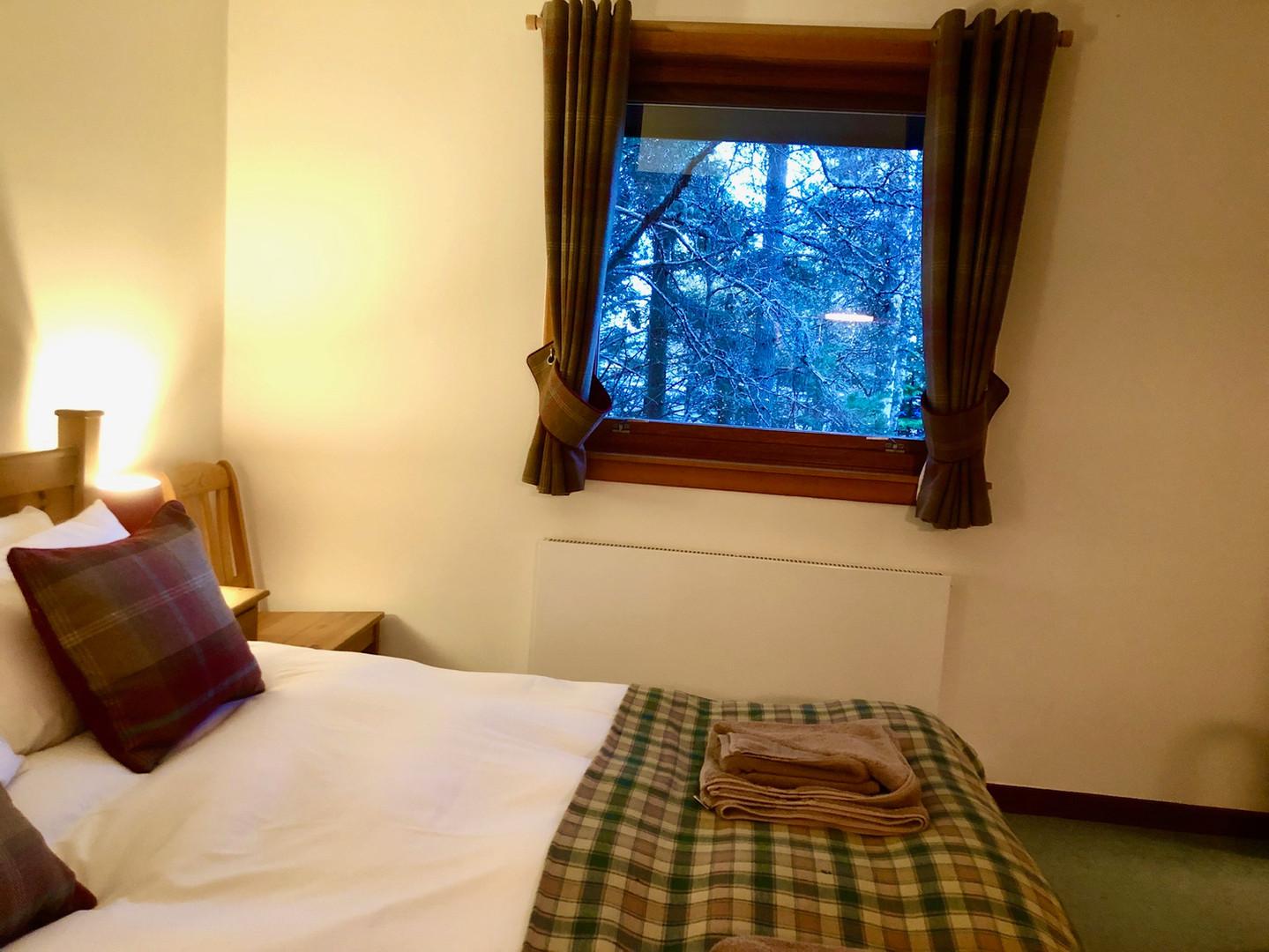 Double bedroom - view over garden