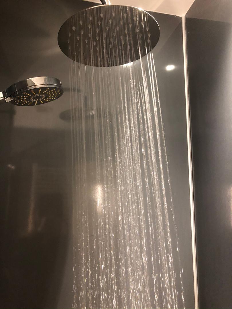 Bathroom - rainfall shower