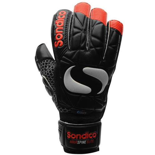 0d7d3913108 The Mens Sondico Aqua Elite Goalkeeper Gloves have been crafted with Finger  Protect System along with a foam grip palm so you be sure to be hitting  more ...