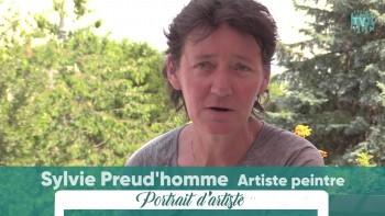 Sylvie Preud'homme, une artiste généreuse...