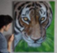 pinceau-peinture-realisme-tigre-acryliqu