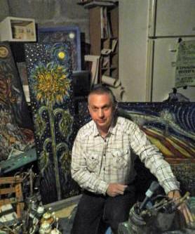 L'artiste Jean-Pierre AUSTRUY