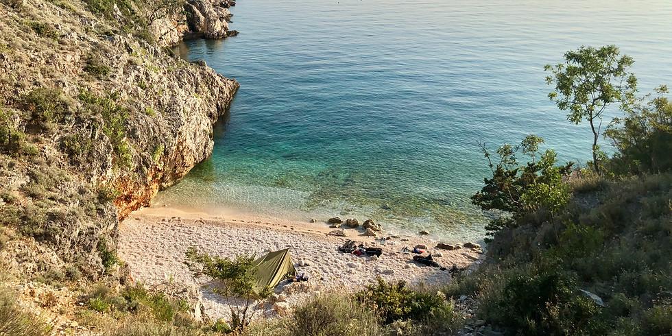 Beginner Seatrekking Trail Cres, Kroatien