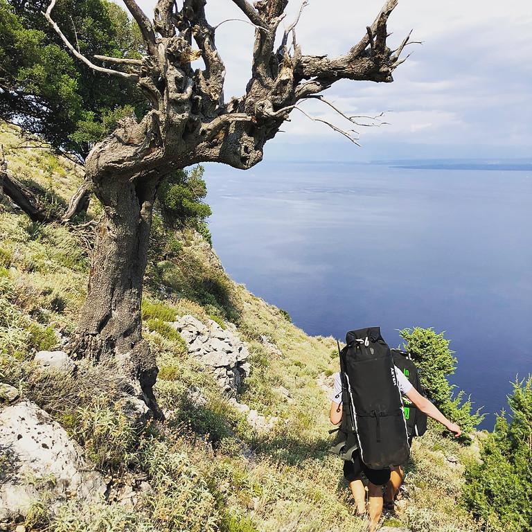 Beginner Seatrekking Trail Cres, Croatia