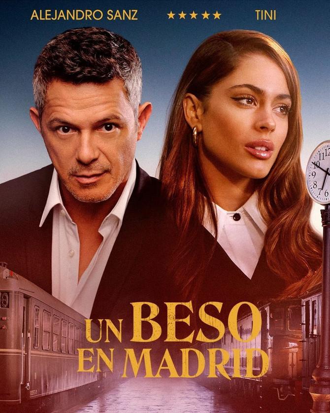 """Tini y Alejandro Sanz presentan """"Un beso en Madrid"""""""
