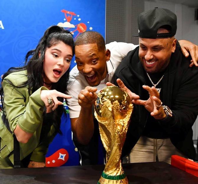 Nicky Jam y Will Smith cantarán en la final del mundial