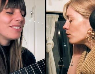 Silvina Moreno y Rocío Igarzabal cantaron juntas
