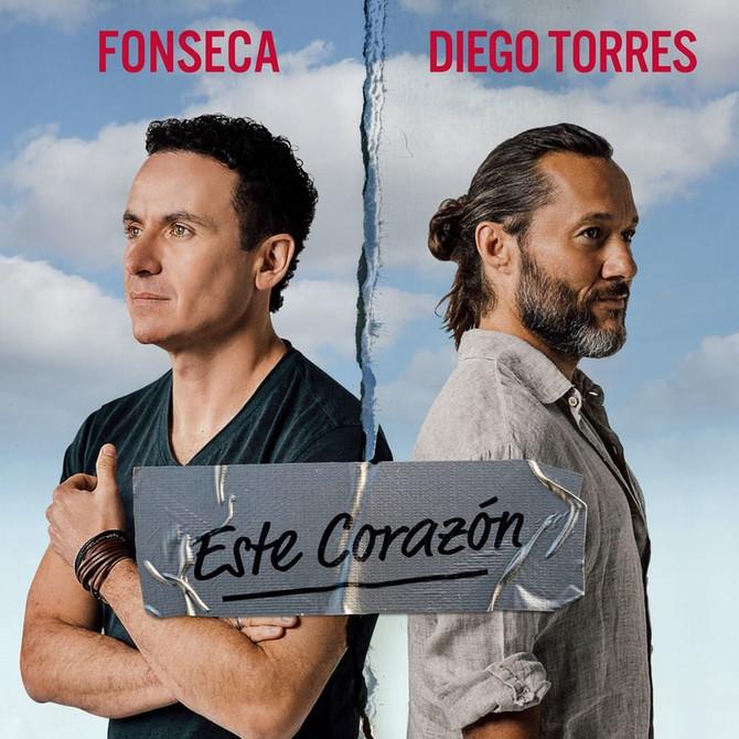 """Diego Torres lanzó """"Este Corazón"""" junto al cantante colombiano Fonseca"""