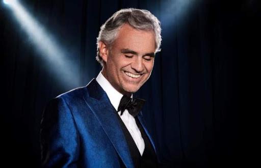 Andrea Bocelli cantará al mundo.