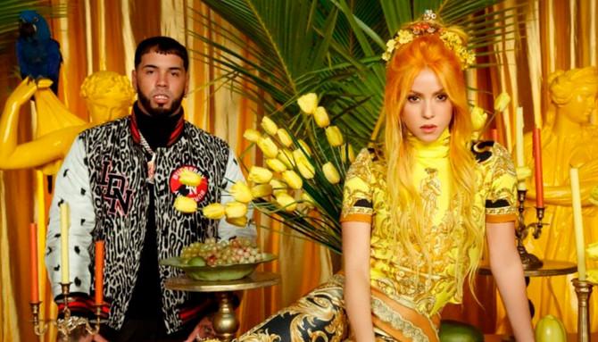 """Mirá el video de """"Me gusta"""", el single de Shakira y Anuel AA"""
