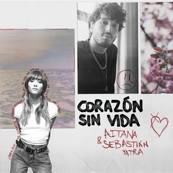 Aitana y Sebastián Yatra se unen en 'Corazón sin vida'