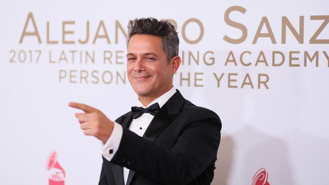 Alejandro Sanz lidera las nominaciones  en el Latin Grammy