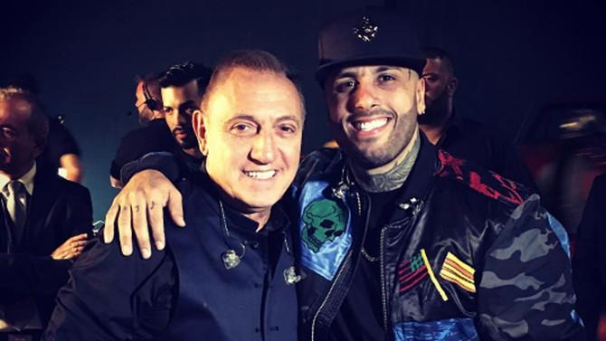 Franco De Vita y Nicky Jam, juntos
