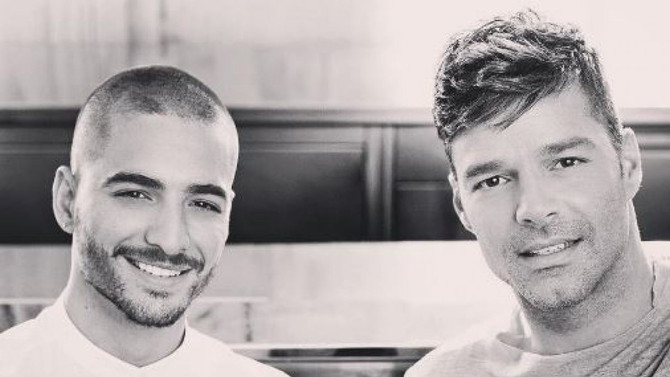 Maluma y Ricky Martin graban su nuevo video